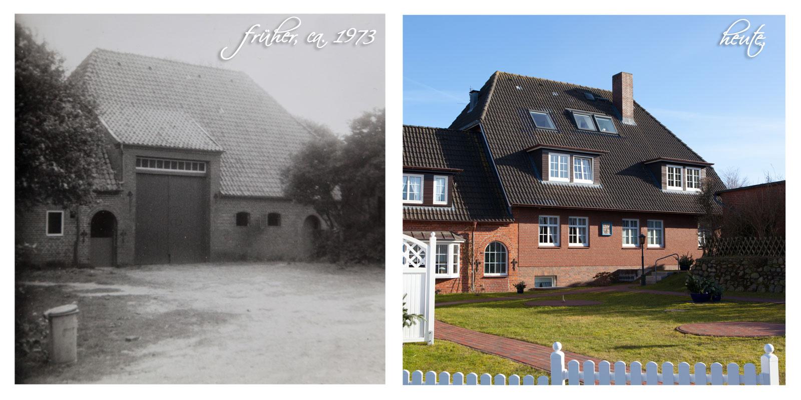 Historie 1973 und Heute