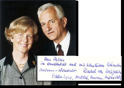 Bundespräsident Richard von Weizsäcker